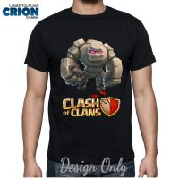 Kaos Clash Of Clan - Golem By Crion