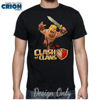 Kaos Clash Of Clan - The Barbarian Attack By Crion