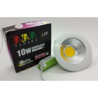 [TANAKA] Lampu Ceiling Downlight LED COD 10 watt ( cahaya warm white )