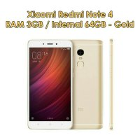 XIAOMI REDMI NOTE 4 RAM 3GB - ROM 64GB - GOLD