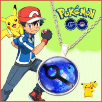 [SALE] Kalung Pokemon GO Squirtle Silver KN65634