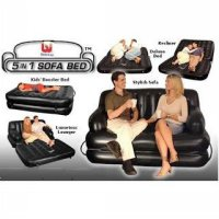 Bestway 5 in 1 Sofa Bed with Electric Pump Size 185x152x64cm