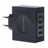 USB Charger 4 Ports 4.2A Real Output Wellcomm