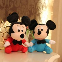 Boneka Rekam Suara Merekam Sound Recorded Dolls Toys Baby Mickey Minnie Mouse Disney