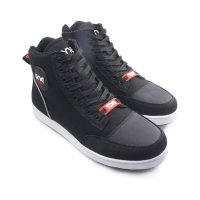 Promo Sepatu One Team Boots Light Textile Fabric Black Original