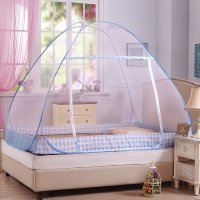 Portable Mosquito Net,Folding Mosquito Nets for Student Bunk Bed,Good Quality Pink Camping Tent Mosquito Netting Double Bed Nets