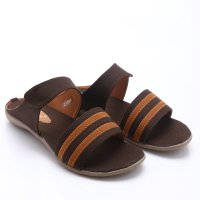 Dr.Kevin Canvas Sandals 27266 Brown