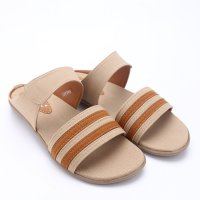 Dr.Kevin Canvas Sandals 27266 Cream, 27266 Brown, 27267 Cream, 27267 Brown