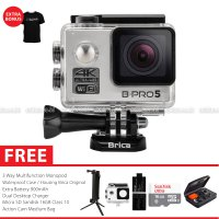 BRICA B-PRO 5 Alpha Edition Version 2 (AE2) 4K Action Camera Paket Combo 3-Way Extreme