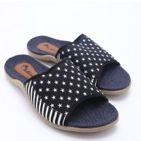 [FREE ONGKIR*] 2 Model Dr.Kevin Canvas Sandals 27307 Blue, 27308 Blue
