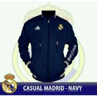 LIMITED EDITION JAKET JERSEY REAL MADRID PARKA PRIA BOMBER PREMIUM