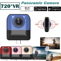 MINI Action Cam Recording HD WiFi 720° Panoramic Sports Driving VR Camera