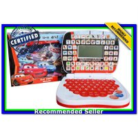 (Diecast Set) MINI LAPTOP 4 BAHASA CARS - MAINAN EDUKASI ANAK