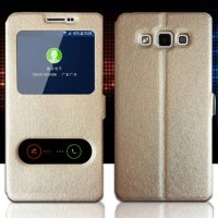 [globalbuy] Leather Case For Samsung Galaxy On 7 On7 Mobile Phone With Window View High Qu/4229400