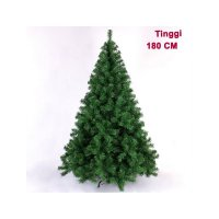 HO2759 - Pohon Natal Green Christmas Tree Plain Yosemite (Tinggi 180cm)