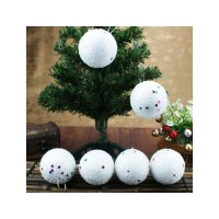 HO1366 - Christmas Tree Ornament Bola Natal Salju (6 CM)
