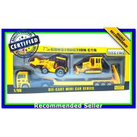 (Diecast Truk & Konstruksi) DIE CAST MINI CAR SERIES , CONSTRUCTION
