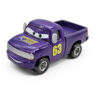 [globalbuy] Pixar Cars 2 Blue No.63 Transberry Juice Pickup Truck Diecast Metal Toy Car 1:/4452796