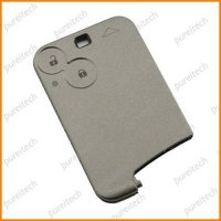 [globalbuy] renault laguna card fob case for car remote key 2 buttons no logo/4302468