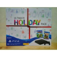 MESIN PS 4 SLIM 500GB ULTIMATE HOLIDAY PACK