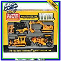 (Diecast Truk & Konstruksi) DIE CAST CONSTRUCTION CAR