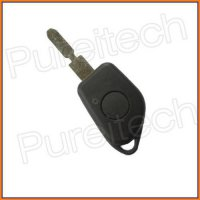 [globalbuy] 10pices/lot car remote key covers fobs for peugeot 406 no logo with battery cl/4303203