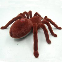 [globalbuy] Electric Remote Control Spider Vivid IR Remote Spider Small Fake Crawl Animal /4474972
