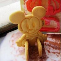 Micky Cookie cutter/ biscuit/ Cookie press mold cake tools ( alat pencetak kue )