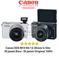 CANON EOS M10 KIT 15-45MM ORIGINAL - KAMERA MIRRORLESS CANON