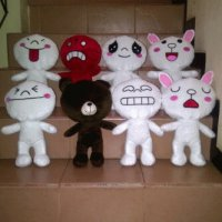 Boneka Emotion Line Doll Toys 60 cm