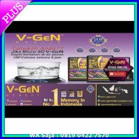 Memory Card / Flashdisk Memory Card V-Gen 128GB TURBO SERIES Class 10 FULL MMC mSD ORIGINAL