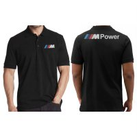 Polo Shirt BMW M Power 2 - Hitam