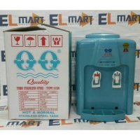 QQ dispenser air panas dan normal 1138 blue /dispenser murah