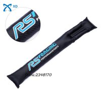 [globalbuy] car seat Padding Spacer Seat Gap Filler Protective for Ford RS Racing logo for/4311307