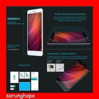 Xiaomi RedMi Note 4 Nillkin Anti-Explosion H Glass Tempered Antigores Screenguard