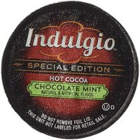 [poledit] Indulgio Mint Chocolate Hot Cocoa 12-Count Single Serve Cup for Keurig K-Cup Bre/13872618