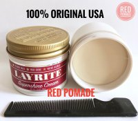 POMADE LAYRITE SUPER SHINE / SUPERSHINE LIGHT WATERBASED 4 OZ + FREE SISIR SAKU