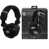 iHip NFH26NYJ / headphone / NFL / stereo / New York Jets / DJ Headphones / smart phone call function