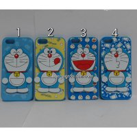 Soft Case Doraemon Iphone 5 / 5s - Bisa Standing / Back Cover