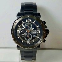 Jam Tangan Alexandre Christie Ac 6474 Full Black Original