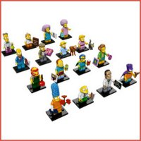 The Simpson Minifigures Lego Series 2 box set isi 60 pack