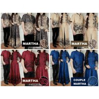 Couple MARTHA Gamis Maxi + Baju Koko SOLD OUT