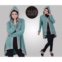 Fashion Hijab Jilbab Keena Long Cardy