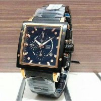 Alexandre Christie AC 6182 Black Rose Gold Jam Tangan Wanita Original