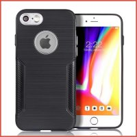 IPHONE 8 CARBON FIBER WITH METAL PROTECTOR CASE OEM GOOD QUALITY