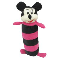 Guling Garis Boneka Minnie Mouse Hitam