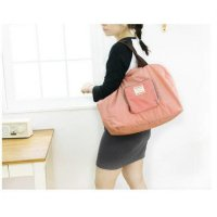 tas lipat belanja nylon shopping bag in bag - street shopeer bag impor