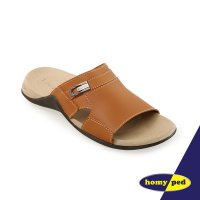 HOMYPED FERDINAND 02 SANDAL PRIA COFFEE & BLACK