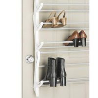 Over the door shoe rack / rak sepatu