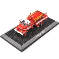 [globalbuy] 1/72 Diecast Fire Truck Car Model Toys Atlas Praga V3S Vehicle Car Model Best /4480378